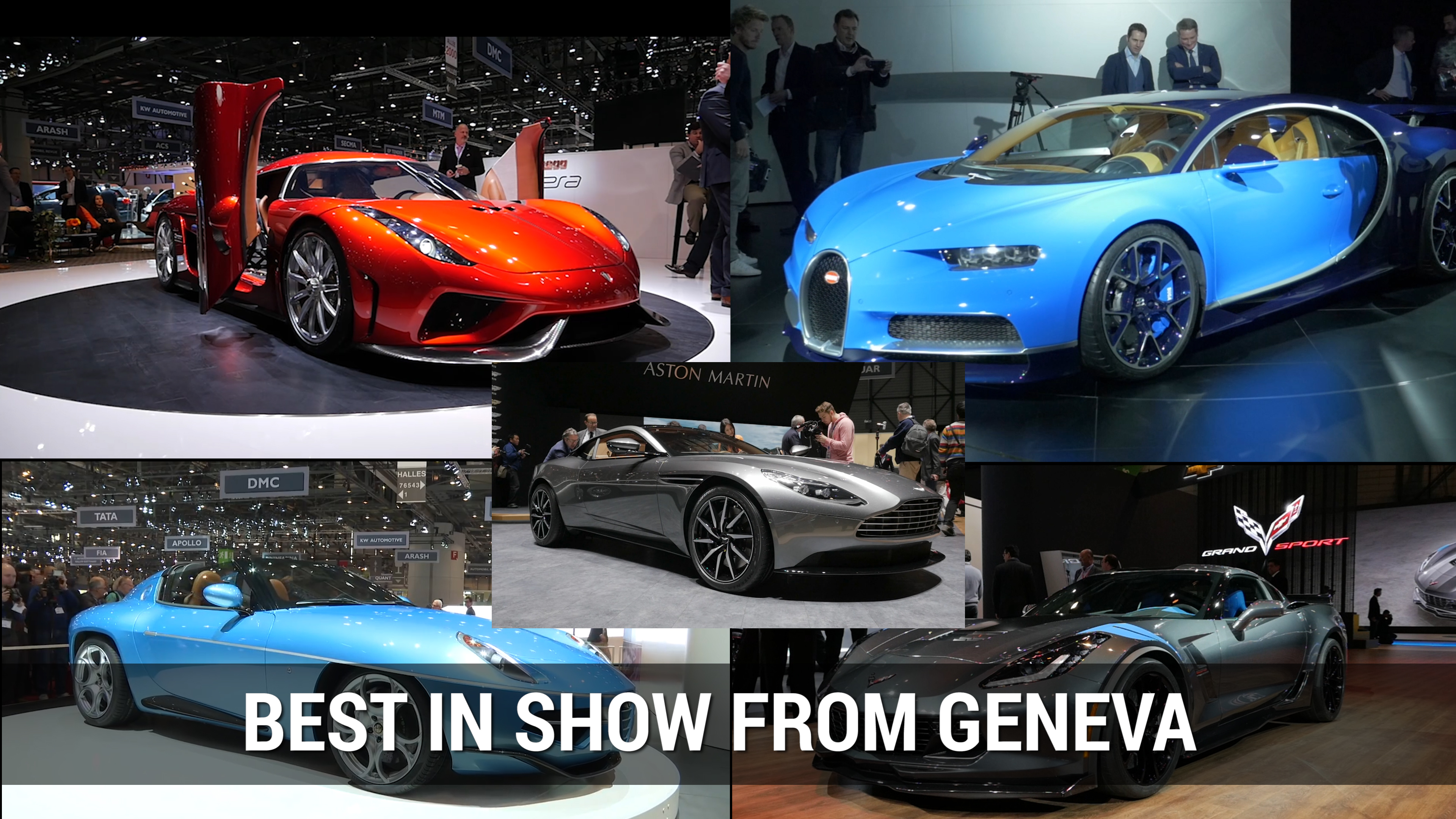 Best in Show From 2016 Geneva Motor Show | Autoblog Minute