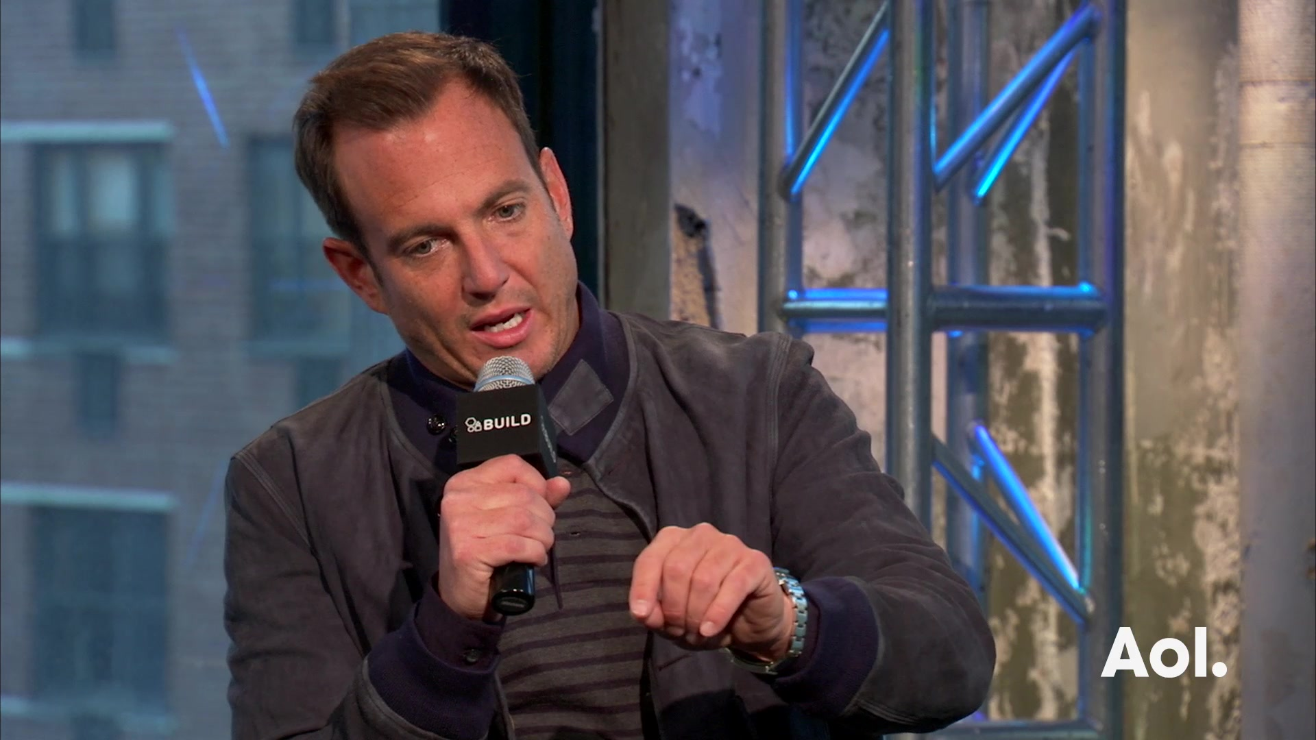 "Will Arnett on His Character in ""Flaked"""