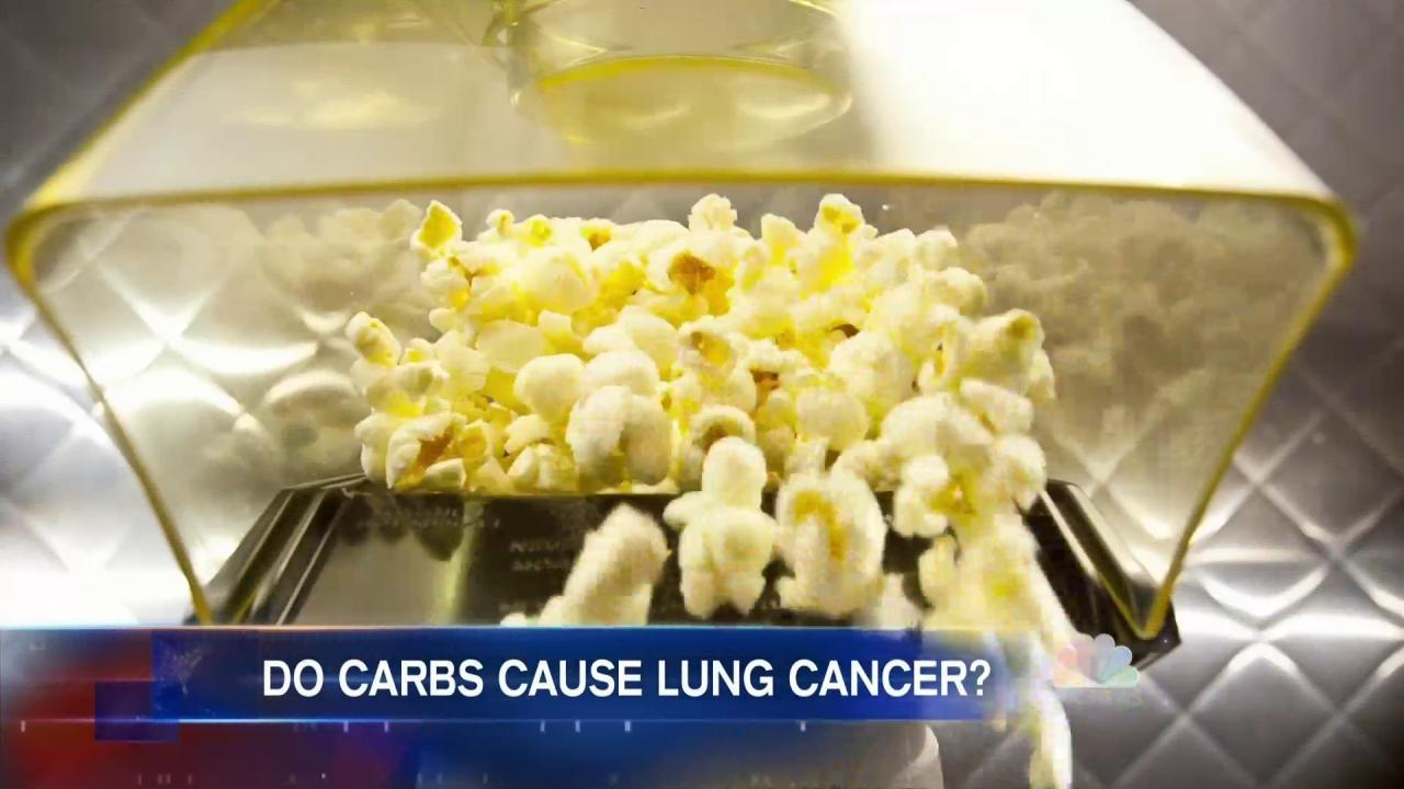 Study Shows Starchy, Sugary Diet May Raise Risk of Lung Cancer