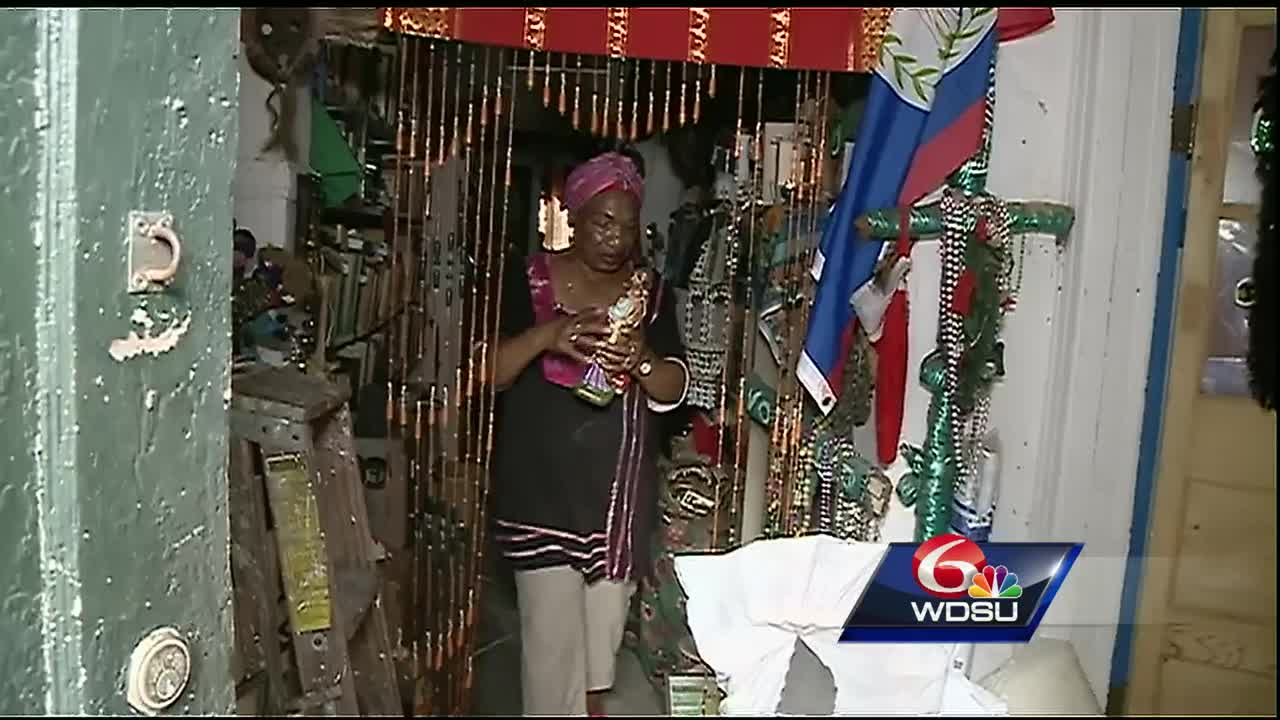 Voodoo Priestess: Damaged Temple 'Worthy of Being Preserved, Protected'