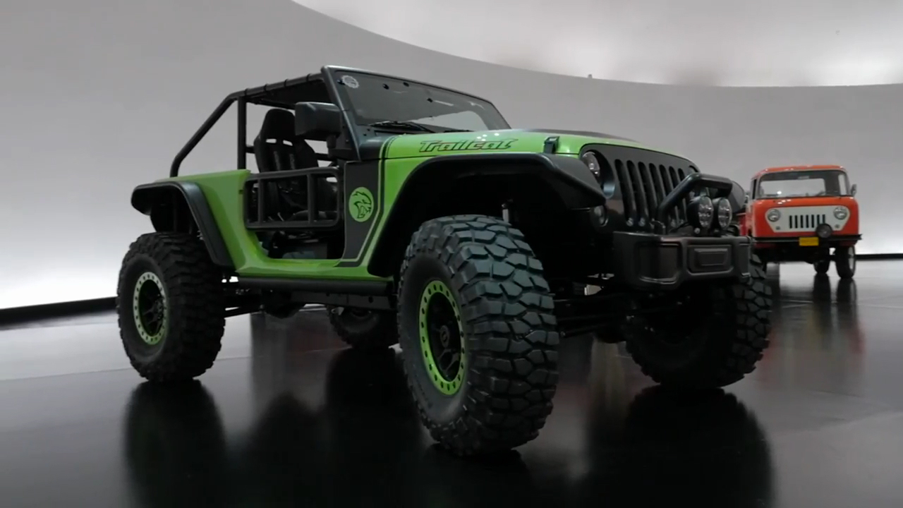 Jeep Wrangler Trailcat | 2016 Easter Jeep Safari Concepts | Beauty-Roll