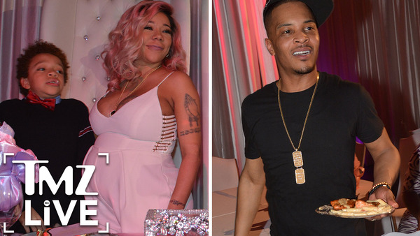 T.I. & Tiny: Baby Shower Disaster (TMZ LIve)