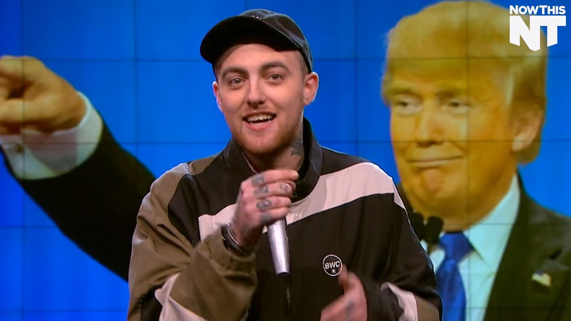 Mac Miller Goes After Donald Trump On 'The Nightly Show'