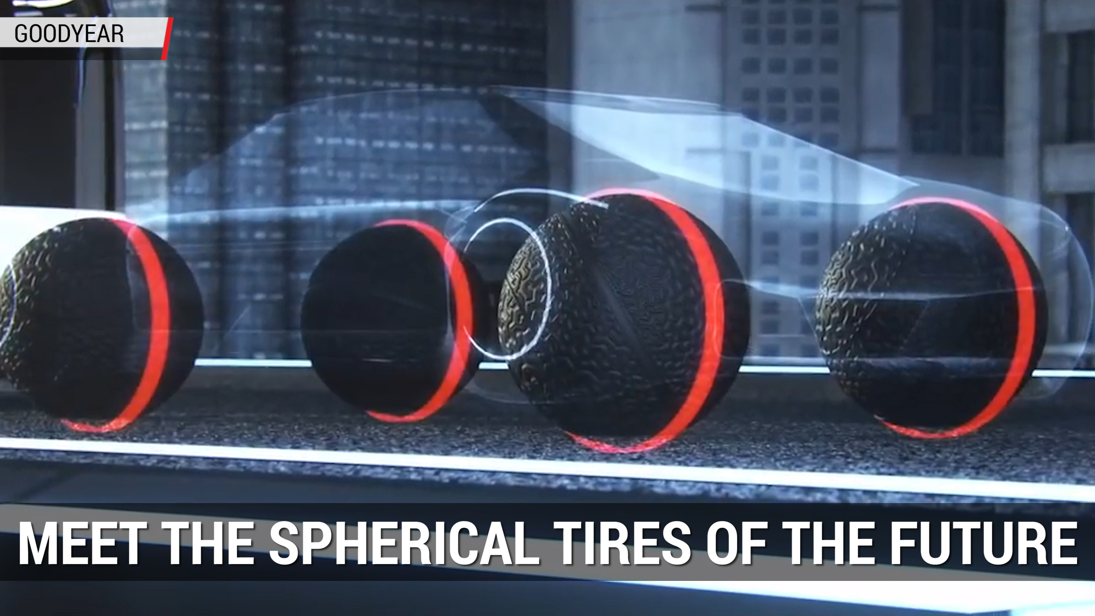 Goodyear's Spherical Tires of the Future | Autoblog Minute