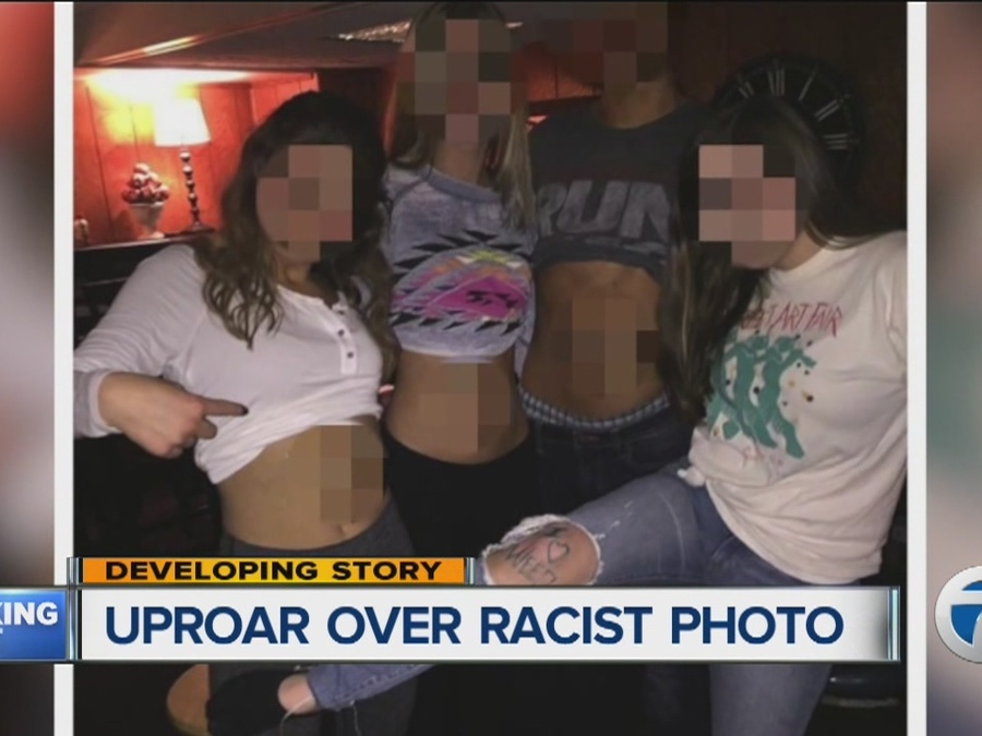 Students Disciplined Over Racist Photo