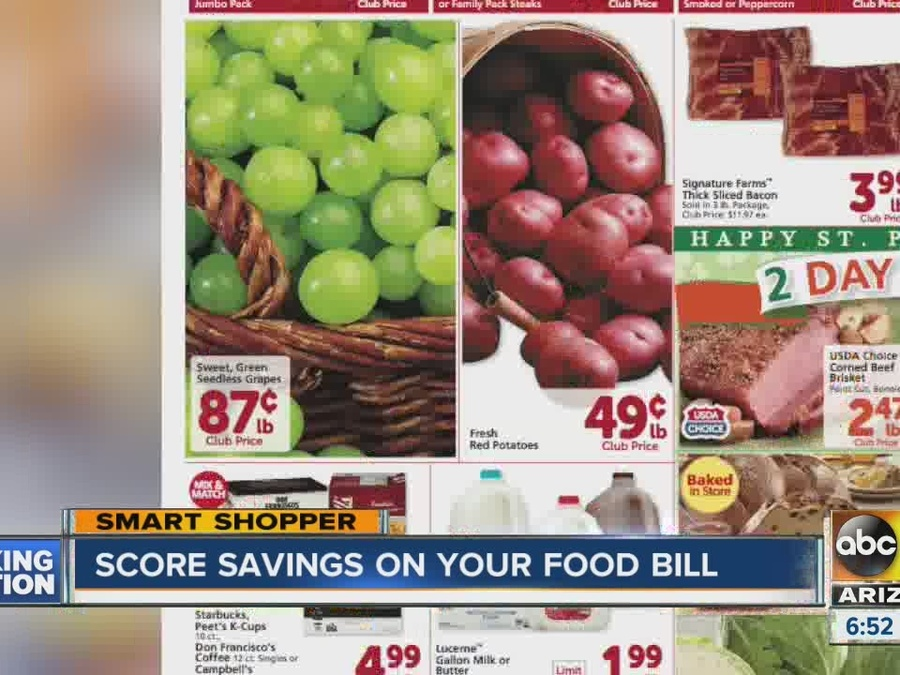 Score Savings on Your Food Bill