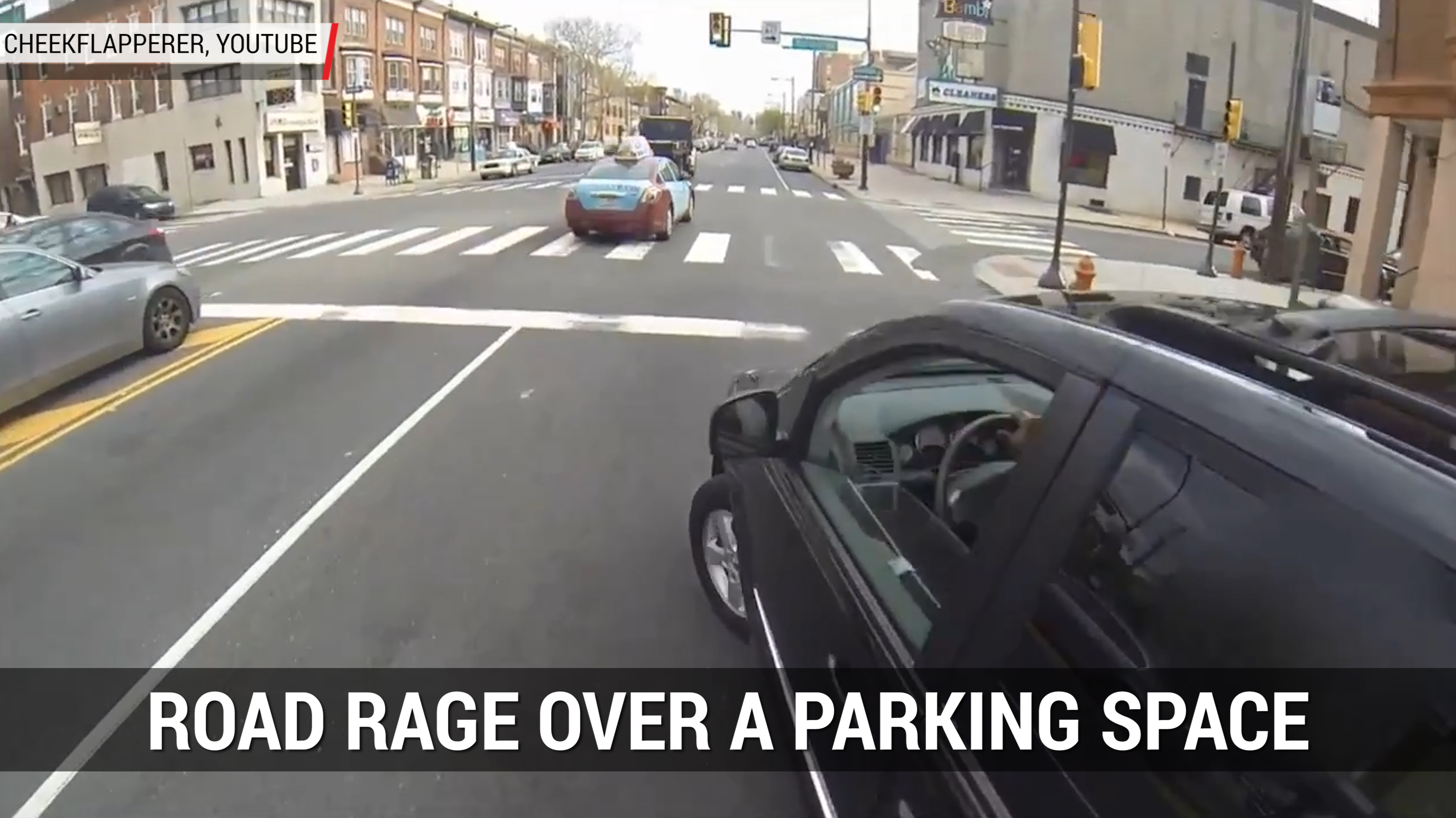 Road Rage Over Parking Space | Autoblog Minute