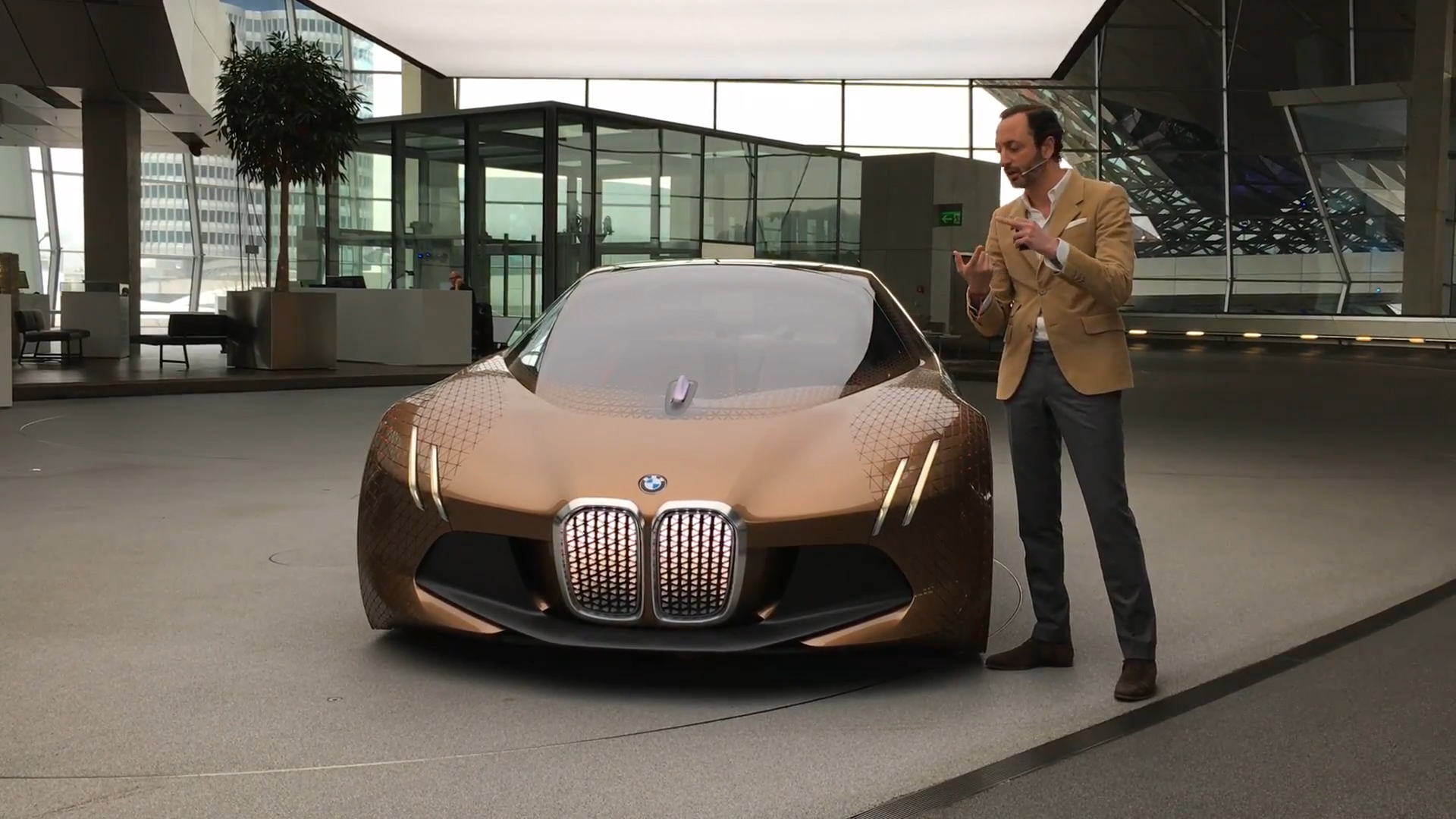 BMW Centenary Events, and Vision Next 100 Concept in Munich | On Location