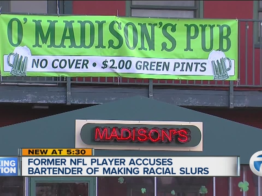 Man Accuses Bartender of Making Racial Slurs