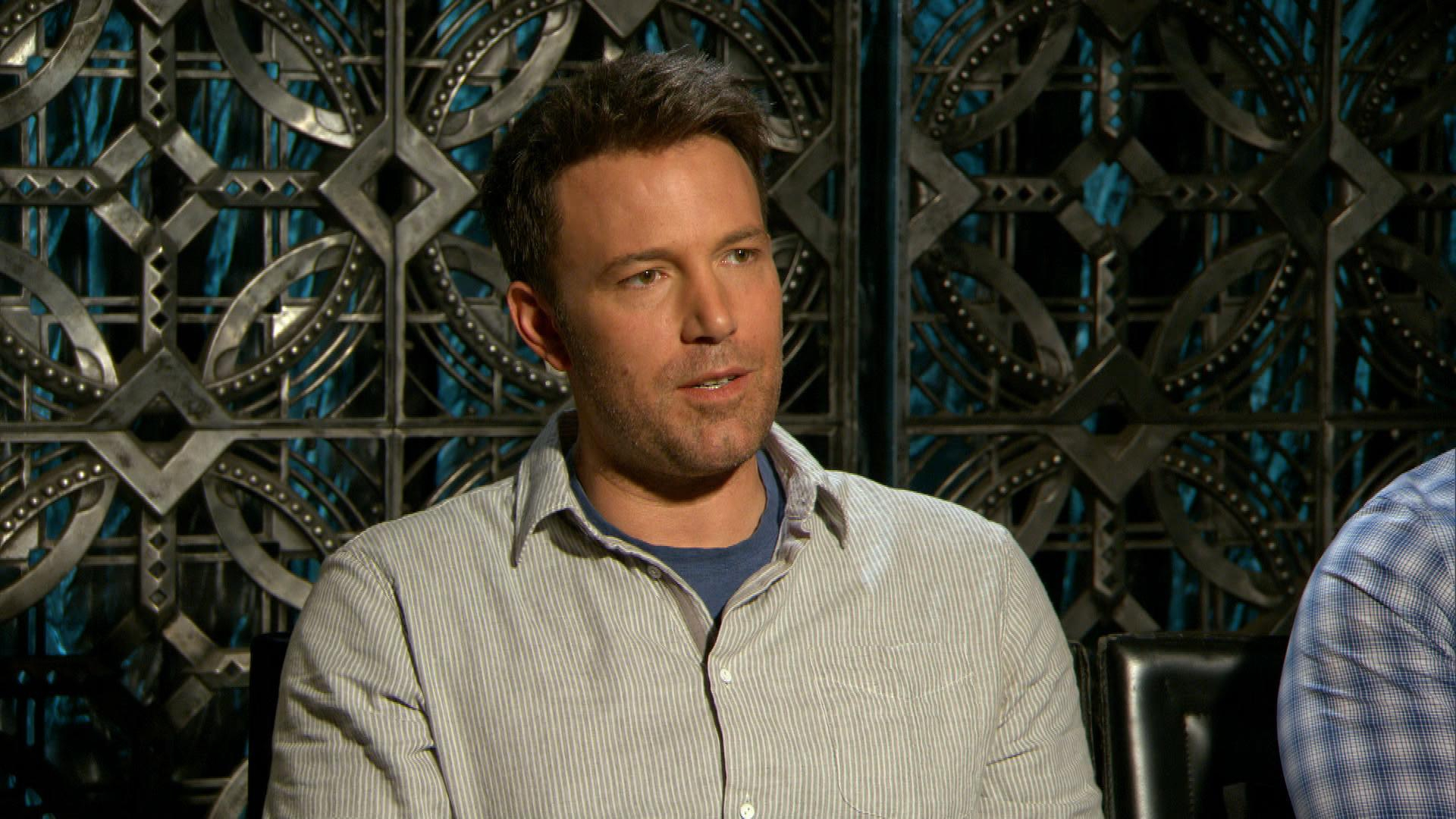 Ben Affleck Talks Daughters & Wonder Woman's Badass Role