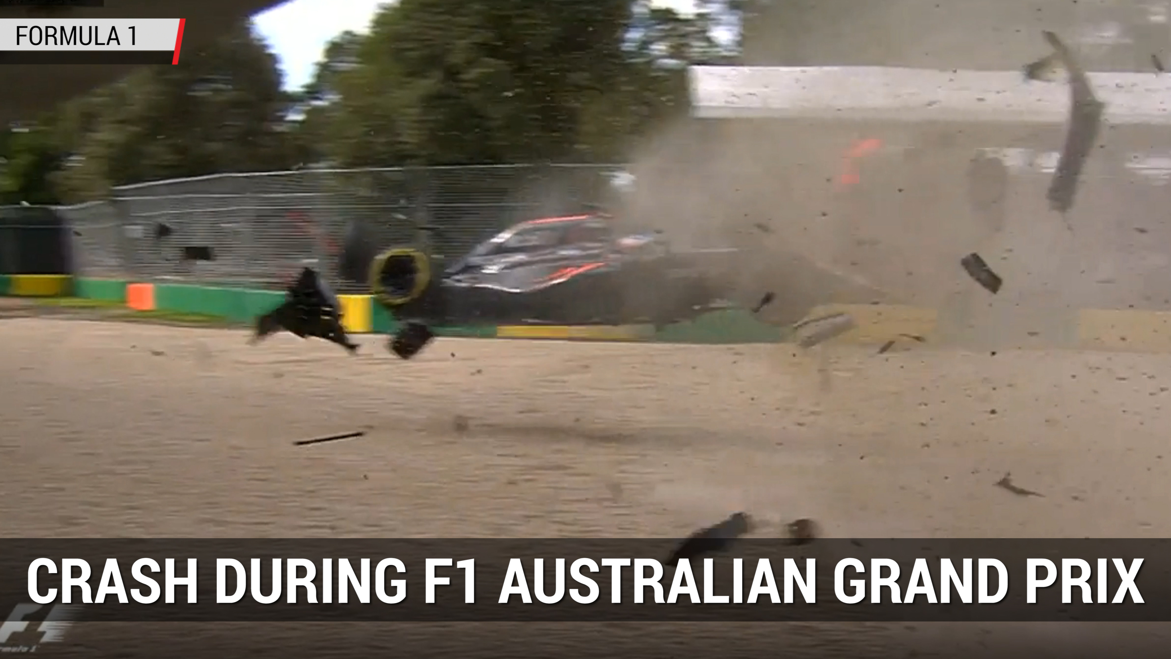Dramatic Crash During Formula 1 Australian Grand Prix | Autoblog Minute