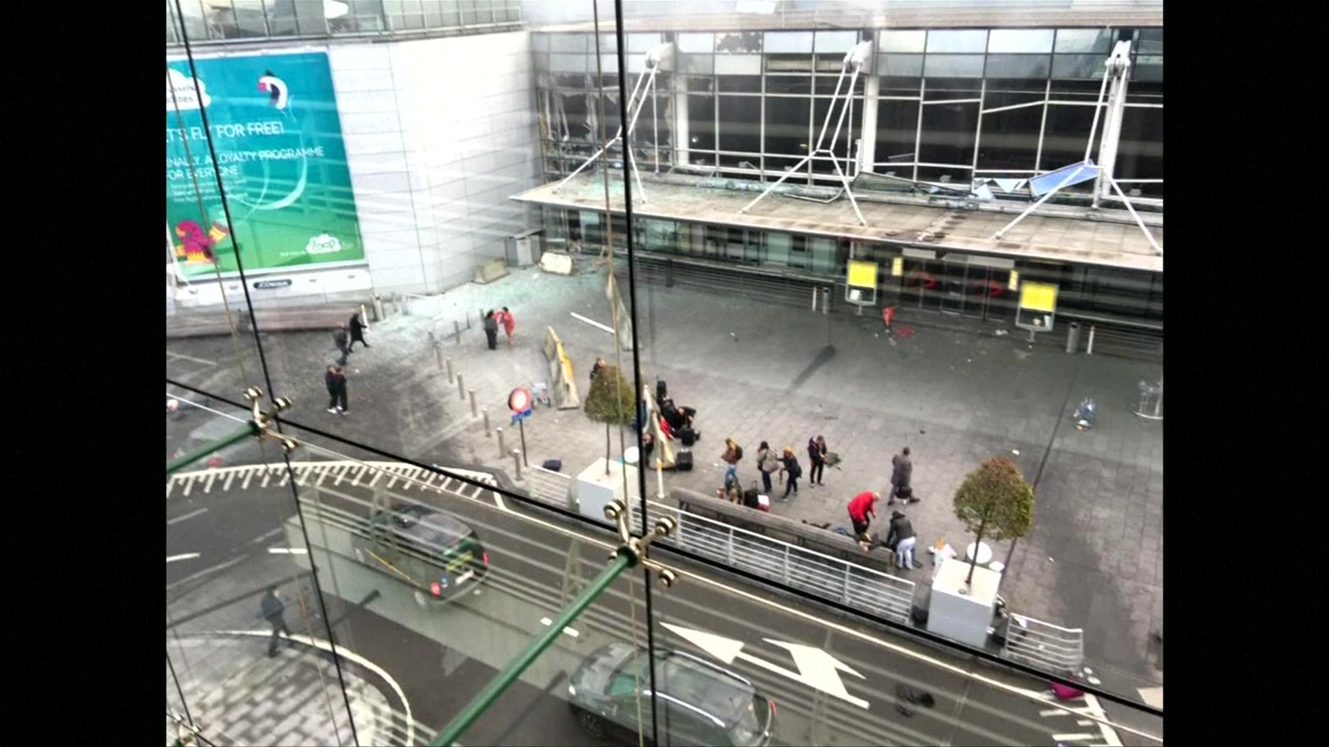 Aftermath of Attack on Brussels Airport