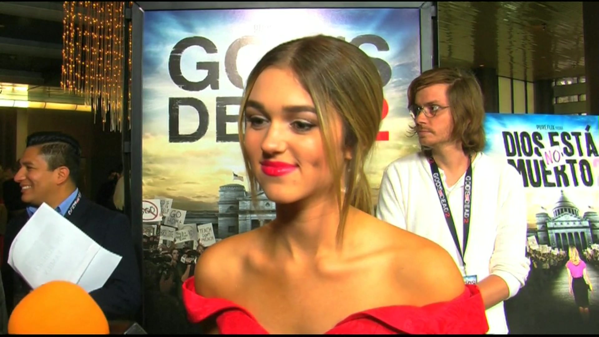 'Duck Dynasty' Star Sadie Robertson on the Red Carpet