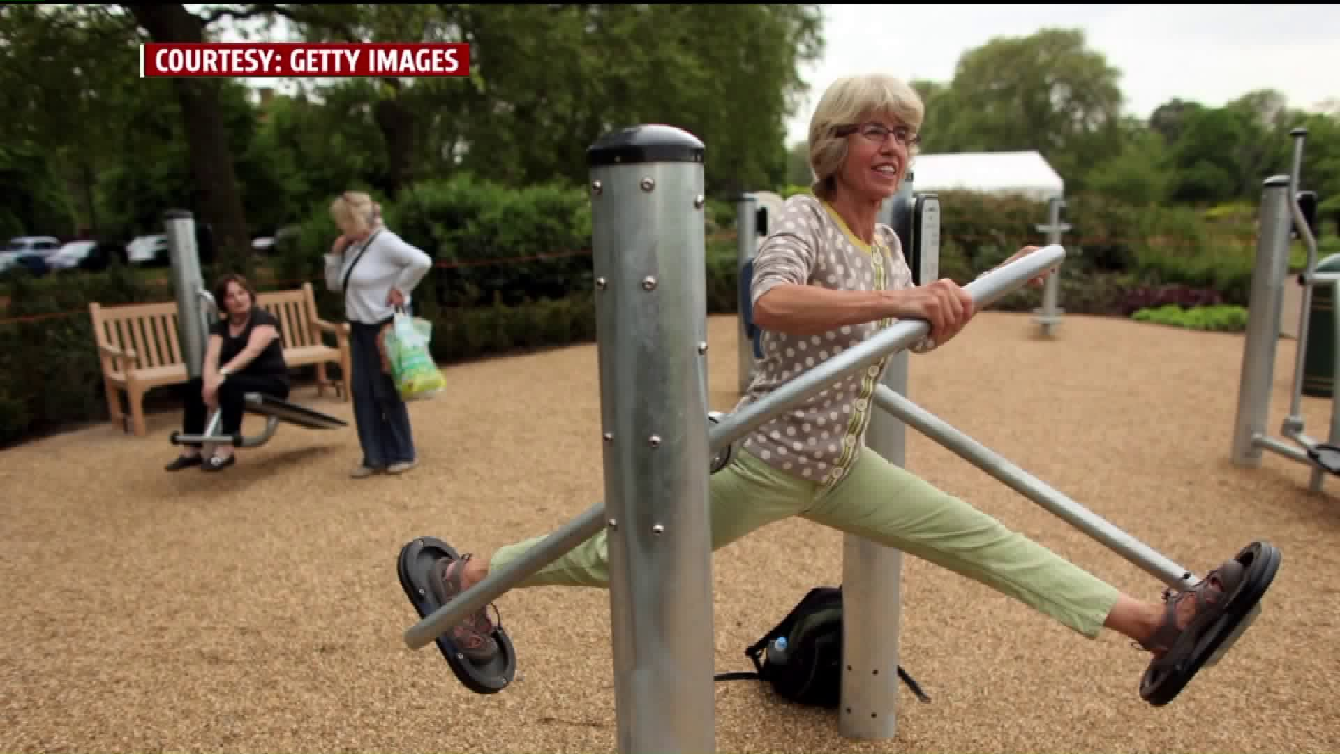 City Considers Building Playground for the Elderly