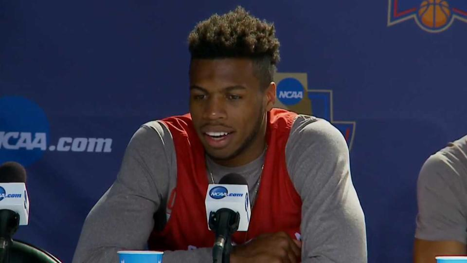 Hield, Kennedy Talk Sweet 16 Matchup