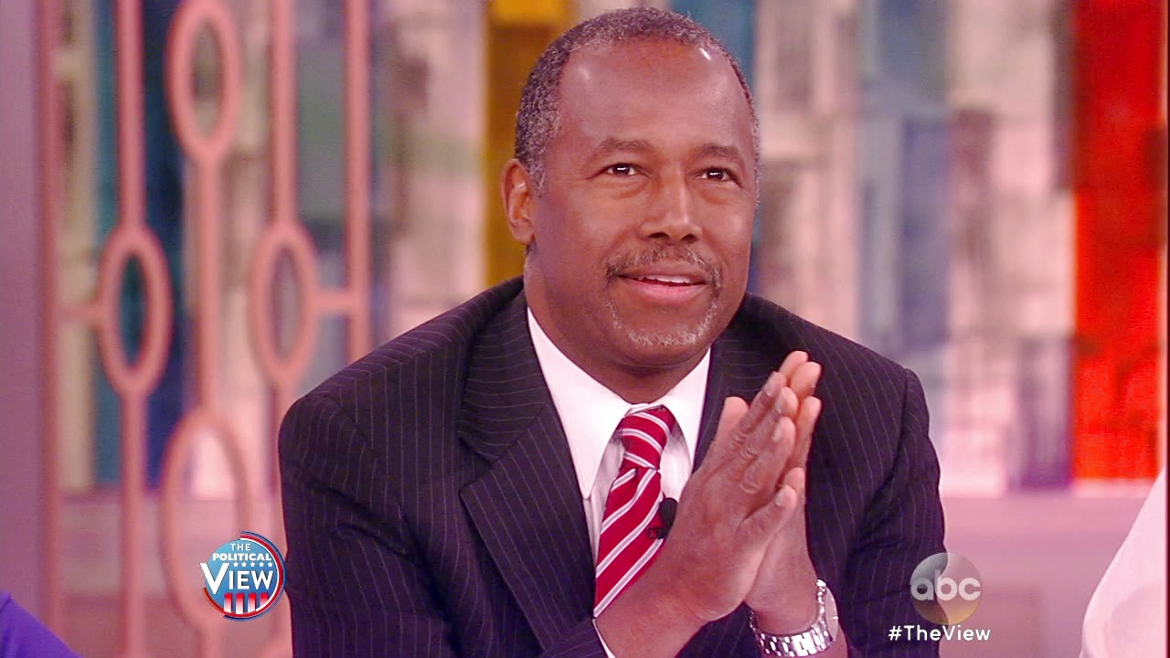 'The View': Dr. Ben Carson on 'The View': Says He Endorsed Trump to Save the Nation