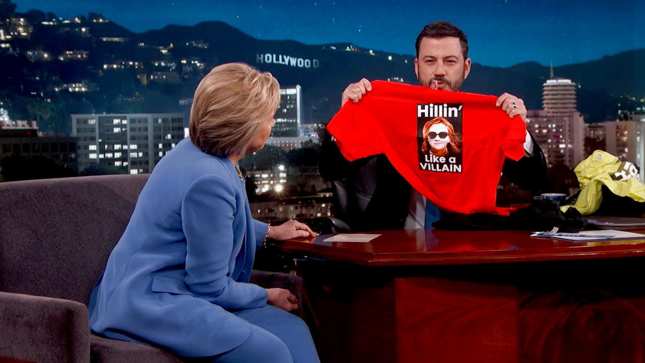 'Jimmy Kimmel Live!': New Hillary Clinton Campaign Slogans