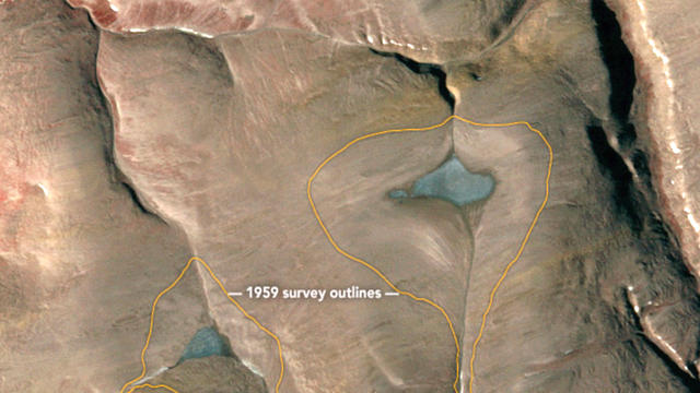 Satellite Images Show 5,000-Year-Old Ice Caps On Brink Of Disappearing