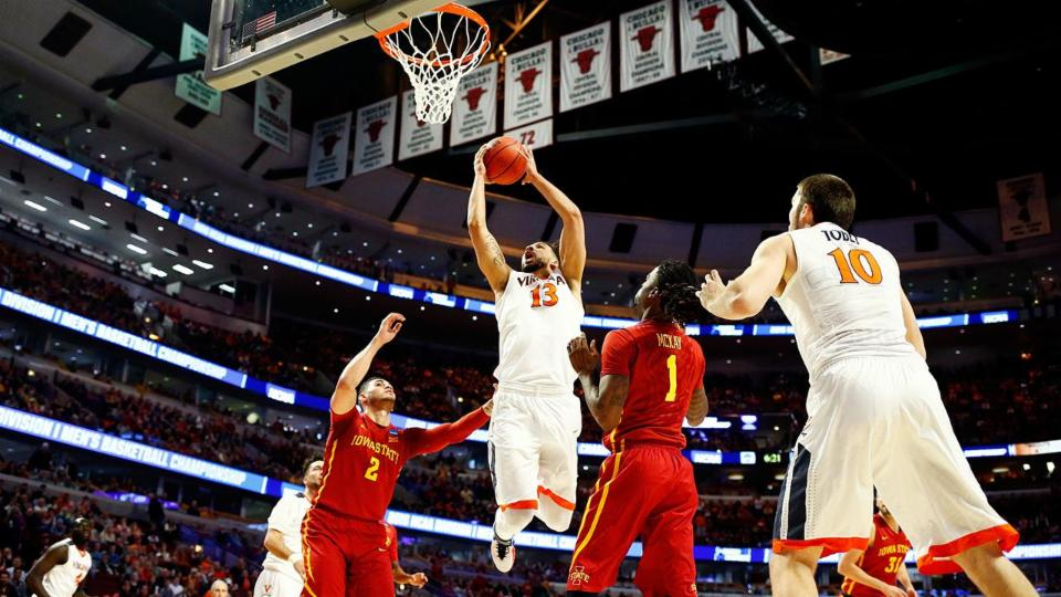 Virginia holds off Iowa State to advance to Elite Eight