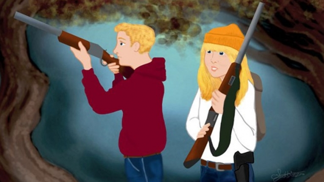 Hansel and Gretel Pack Heat in the NRA's Reimagined Fairy Tales