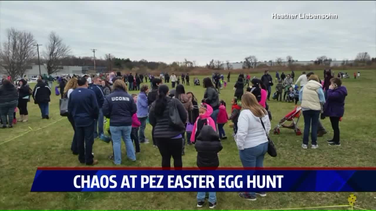 Pushy Parents Spoil Easter Egg Hunt in Connecticut