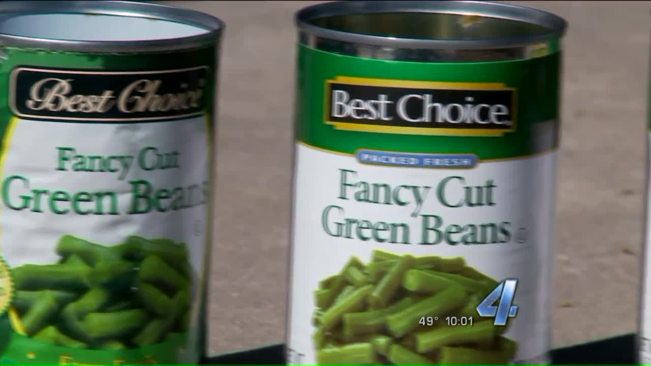Family Finds Dead Mouse in Can of Green Beans