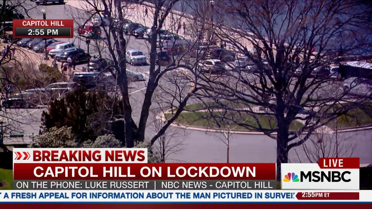 Capitol Hill on Lockdown