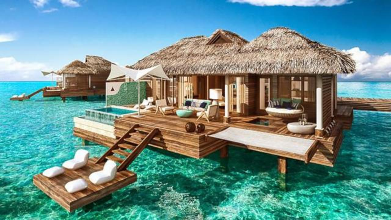 New Overwater Bungalows In Jamaica Are What Dreams Made Of