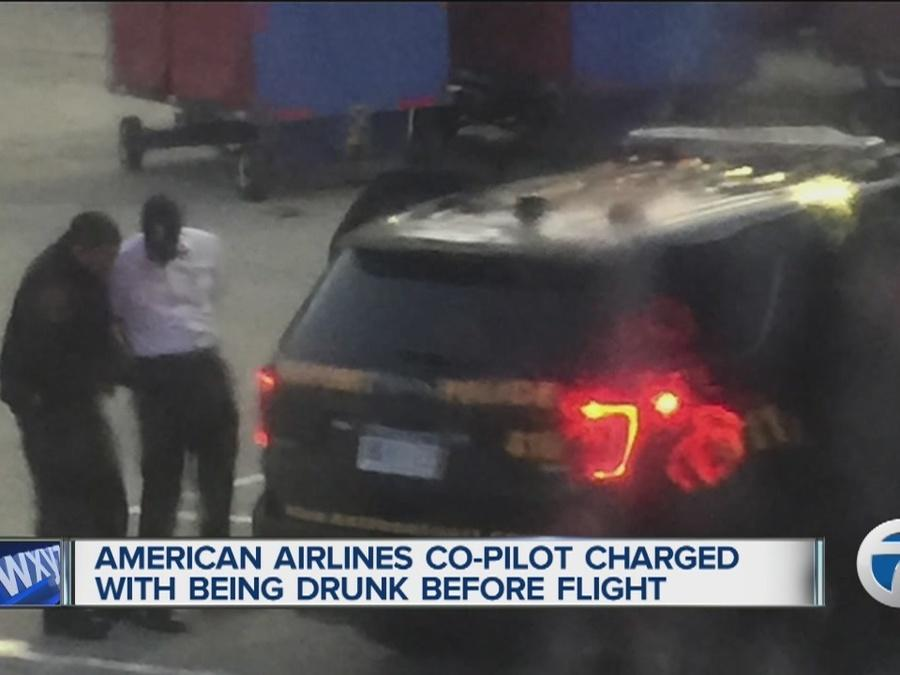 American Airlines co-pilot charged with operating an aircraft while drunk