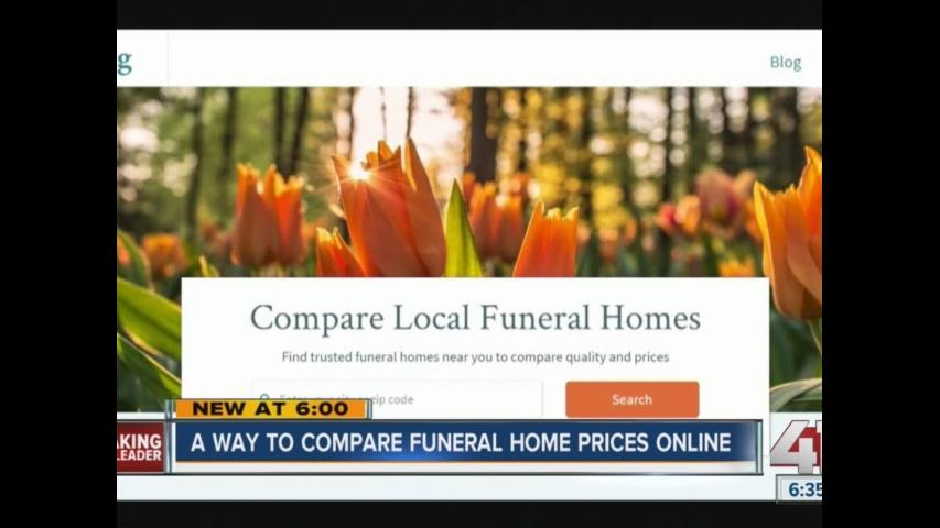 New way to compare funeral home prices online