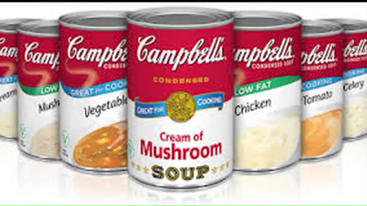 Campbell's Soup to Remove BPA from Cans by Mid-2017