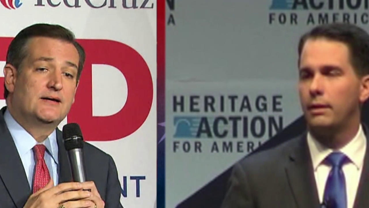 Scott Walker: 'I Am Proud to Endorse Ted Cruz'