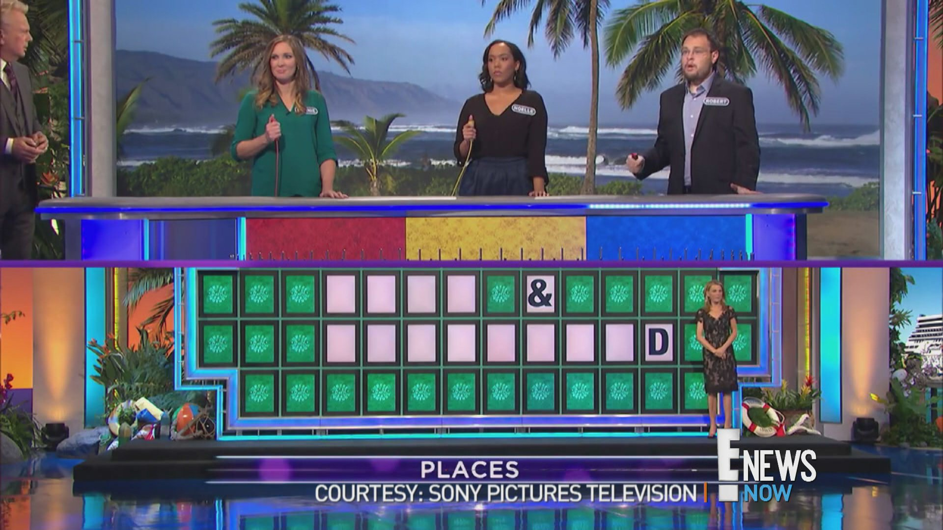 """Wheel of Fortune"" Player Solves Puzzle With One Letter"