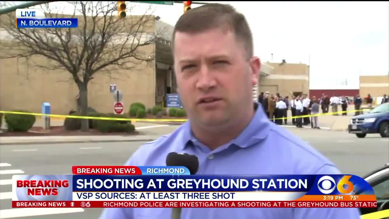 At Least 3 People, Including State Trooper, Shot At Virginia Greyhound Station