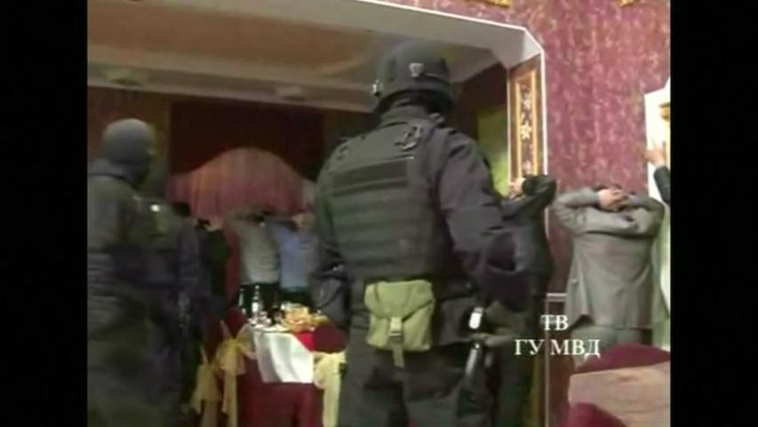 Russian police detain 167 in restaurant raid