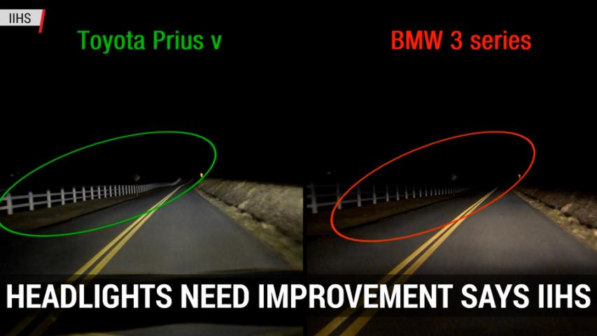 Automakers Must Improve Headlights Says IIHS | Autoblog Minute