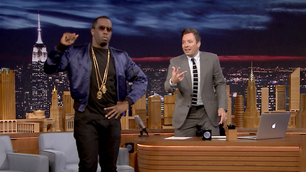 "Sean ""Diddy"" Combs Gave Jimmy a Self-Destructing Party Invite"