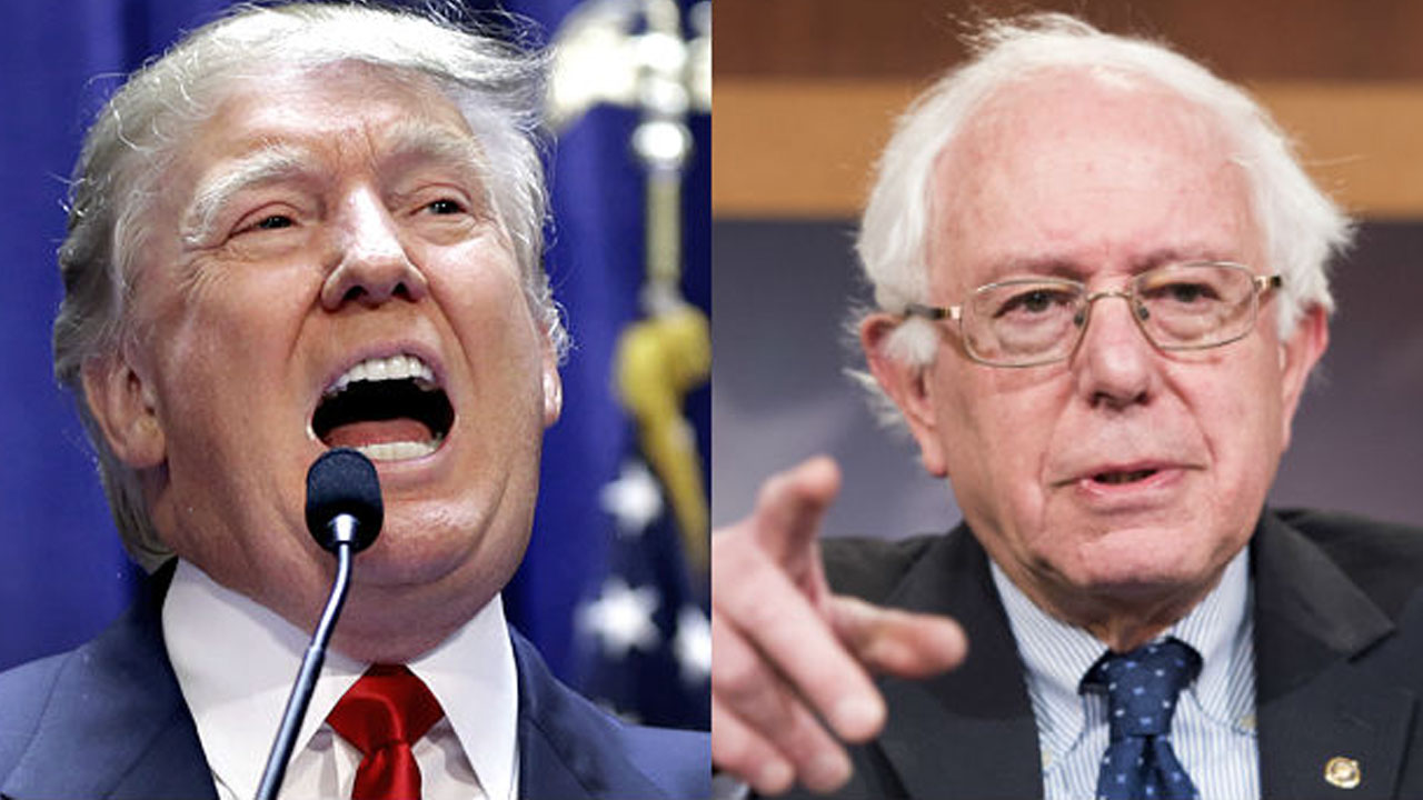 How Similar Are Bernie And Trump Supporters?