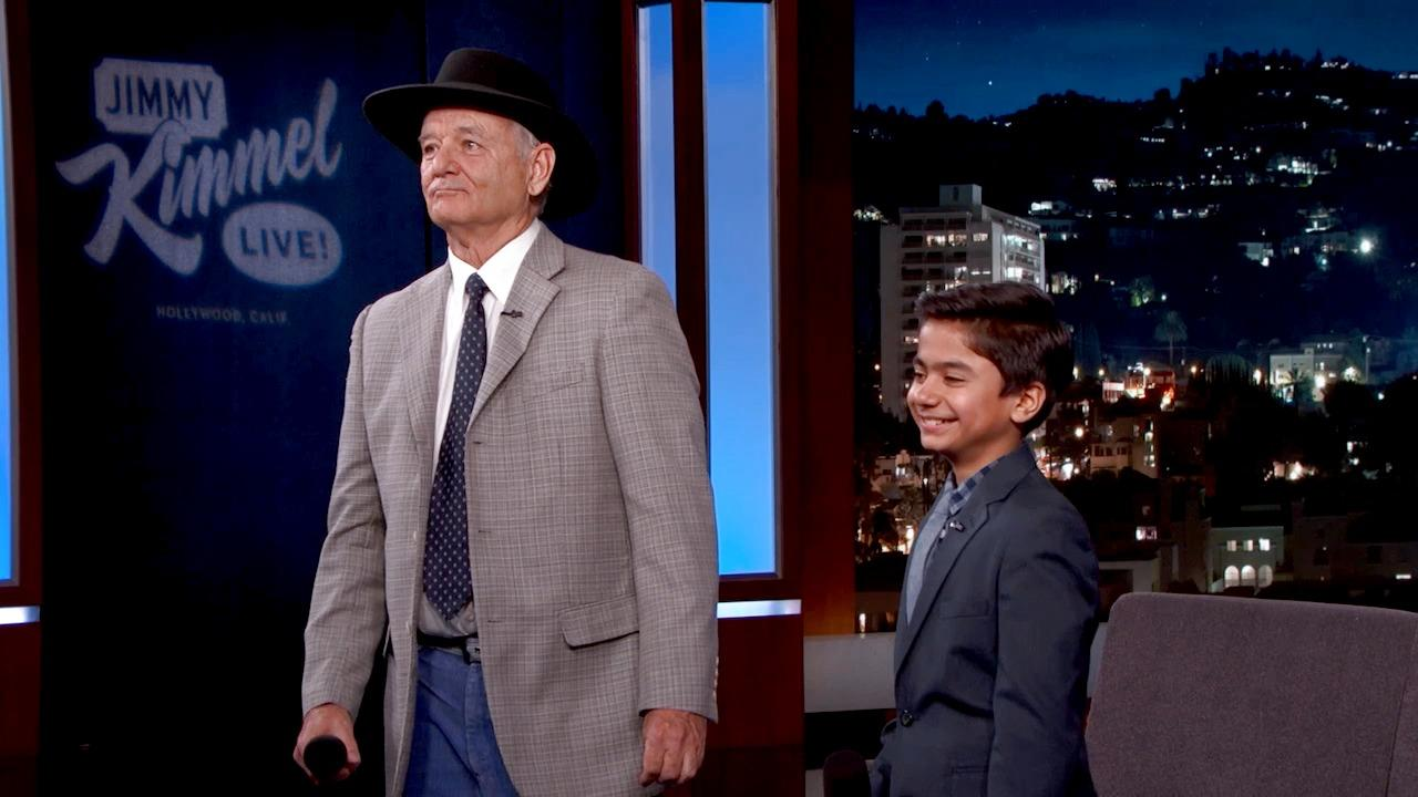 "Bill Murray & Neel Sethi Sing ""The Bare Necessities"""