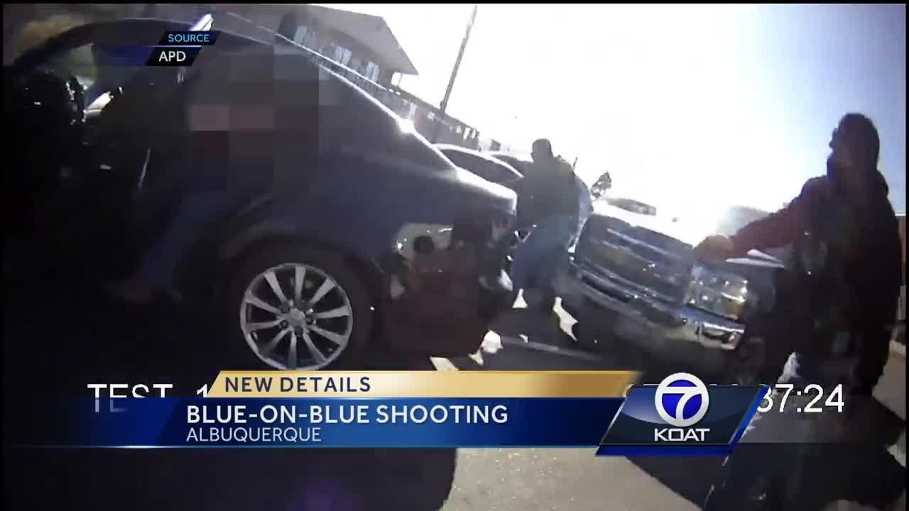 Blue-On-Blue Shooting Video Released in Albuquerque