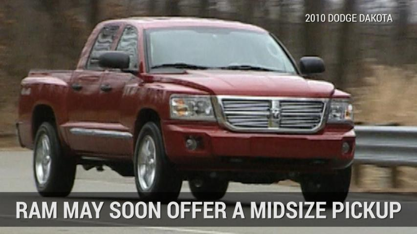 Truck Giant Ram May Soon Offer Midsize Pickup | Autoblog Minute