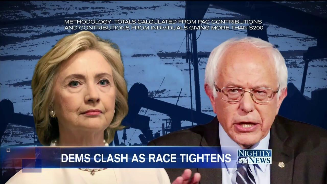 Sanders Challenges Clinton on Her 'Home' Turf Ahead of New York Primary