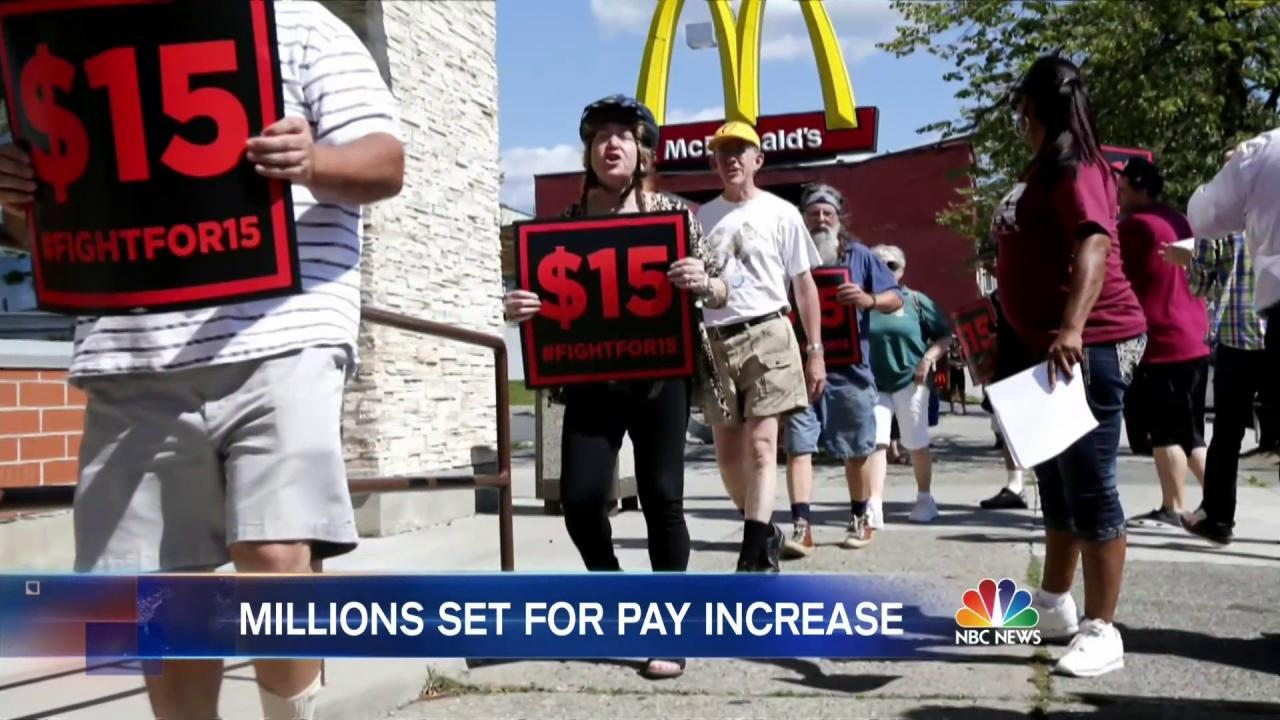 California and New York Poised to Raise Minimum Wage to $15