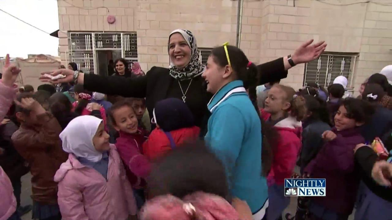 This Principal Is Helping Syrian Refugee Girls, One Chair at a Time