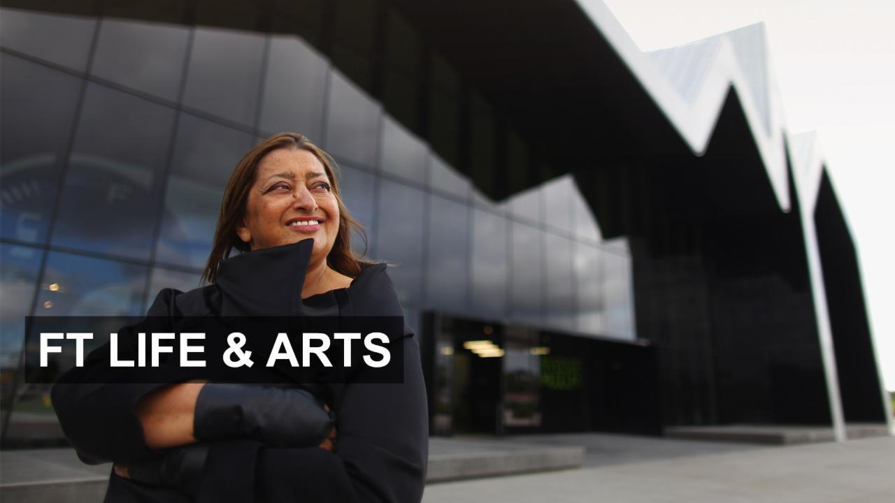 Visionary architect Zaha Hadid dies
