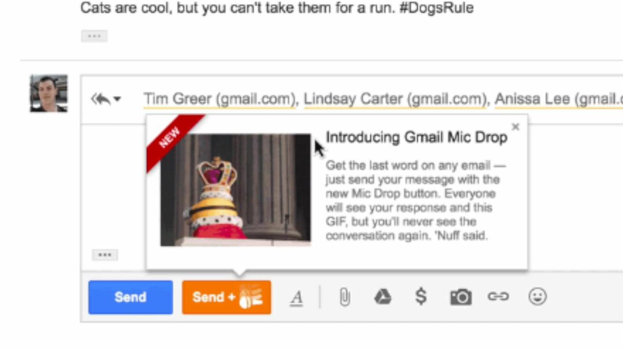 Google's April Fool's 'mic drop' prank backfired