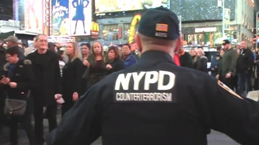 NYC's Times Square evacuated over suspicious truck