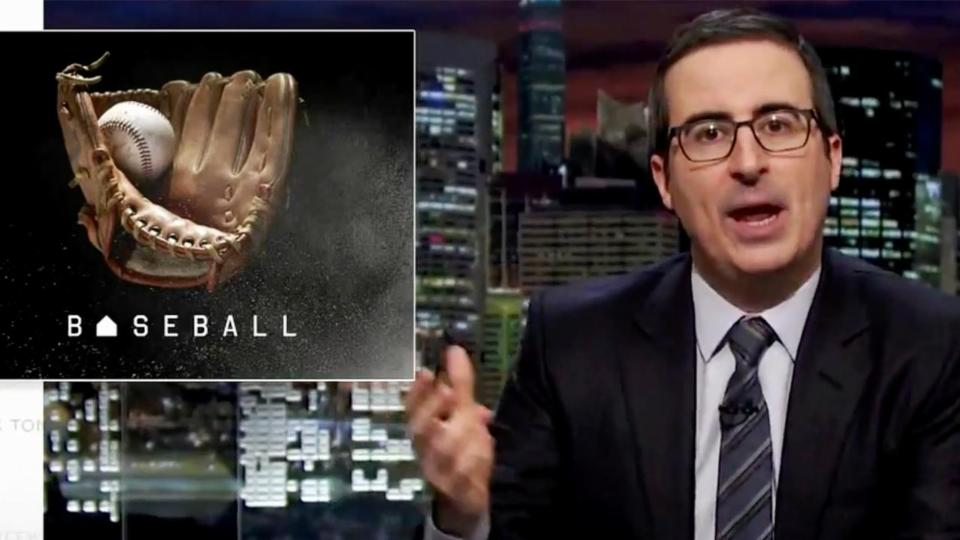 John Oliver Calls out Yankees for 'Elitist' Ticket Policy