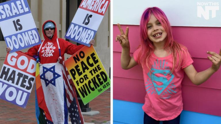 This Transgender Girl Wants Paint The Trans Flag On A House Across From The Westboro Baptist Church