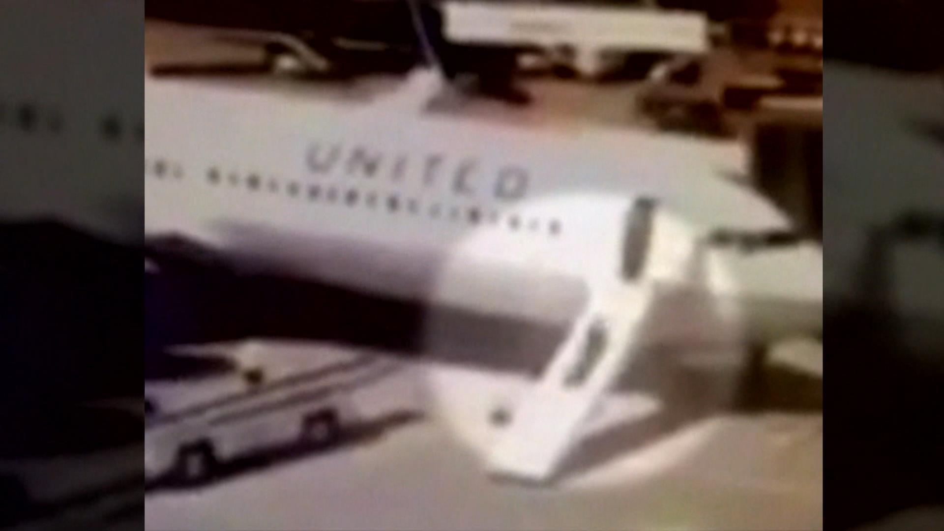 Caught on Camera: Flight Attendant Pulls Emergency Slide to Deploy Plane